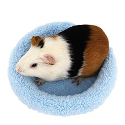 BWOGUE Hamster Bed,Round Velvet Warm Sleep Mat Pad for Hamst