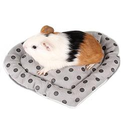 BWOGUE Hamster Bed,Ultra-Soft Cozy Fleece Washable Mat Pad f