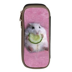 bagshome Hamster Big Capacity Canvas Cosmetic Case Portable