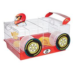MidWest Homes for Pets Hamster Cage | Fun Race Car Theme | A
