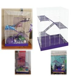 Hamster Cage Gerbil Guinea Pig Rat Cages Pets Supplies Chew