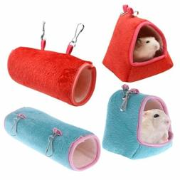 Hamster Cage Hammock Guinea Pig Sleeping Bed Winter Warm Sma
