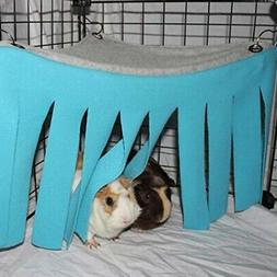 Hamster Cage Hanging Beds Nest Guinea Pig Hideout Hideaway C