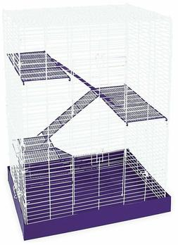 Hamster Cage Pet Guinea Pig Rat Chew Proof Housing Durable 4