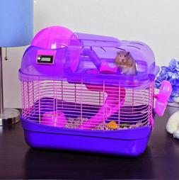Hamster Cage Pet Mouse Home Gerbil Playground Exercise Ball