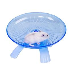 Awtang Hamster Flying Saucer Exercise Wheel Toys Silence Qui