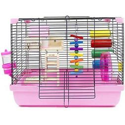 GalaPet Hamster and Gerbil Cage Habitat with Toys