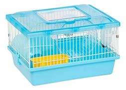 IRIS Hamster and Gerbil Pet Cage, Blue