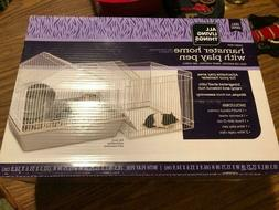"""All Living Things"" Hamster Home w/Playpen"