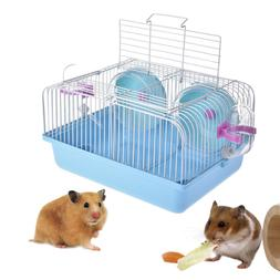 Hamster House Mouse Castle Habitat Mice Rat Cage Bottle Pet