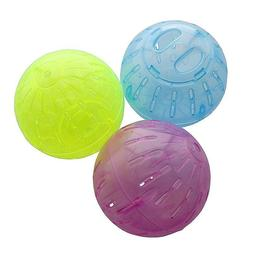 Hamster Running Ball Plastic Toys Pet Crystal Clear Toy Fitn
