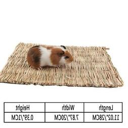 Handmade Hay Mat for Rabbit Hamster Lovely Guinea Pig Bed An