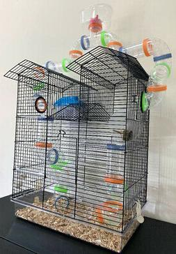 Happy Fun Land Watch Tower Dwarf Hamster Habitat Rodent Gerb