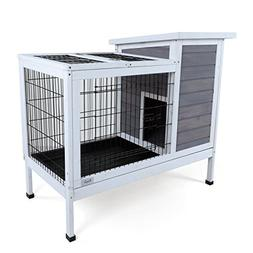 Petsfit Indoor Rabbit Hutch, Bunnies Cages, Bunny Cages Indo