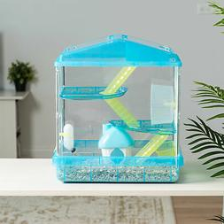 IRIS USA, Inc. 3-Tier Hamster Cage w/ Feeder