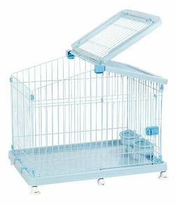 IRIS USA, Inc. Wire Small Animal Cage with Casters