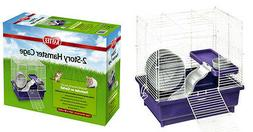 Kaytee My First Home for Hamster, 2-Story, 14.5 x 10 x 14.5