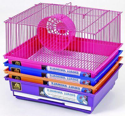 1 story basic hamster and gerbil cage