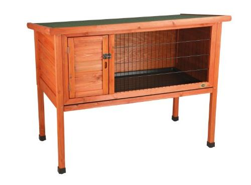 1 story rabbit hutch
