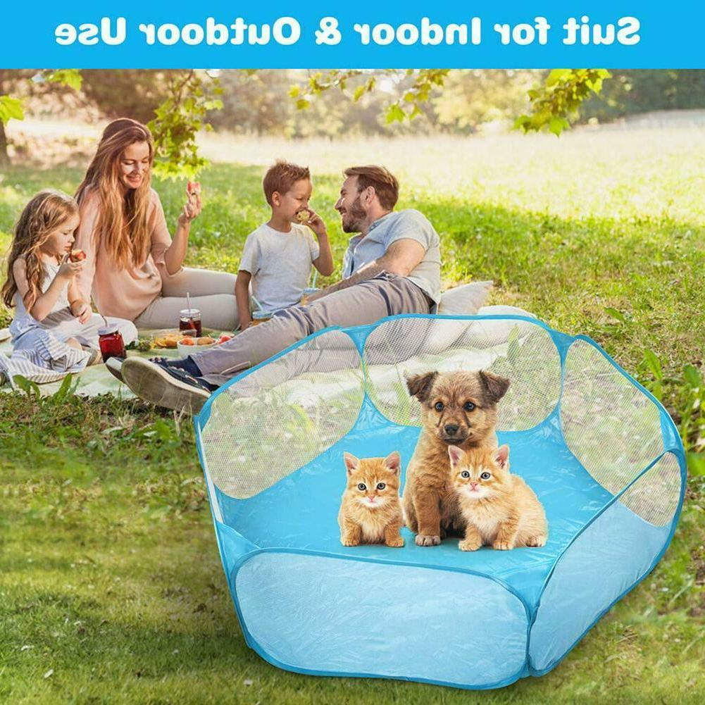 2020 New Small Animals Cage Rabbits Pet Exercise