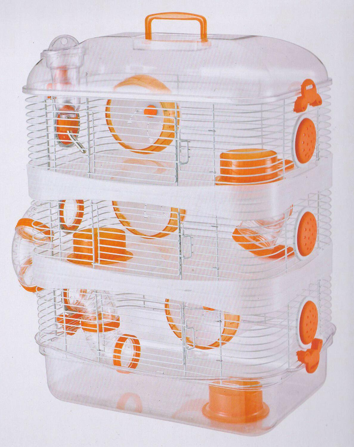 3 Color, NEW Sparkle Clear Levels Dwarf Hamster Mice