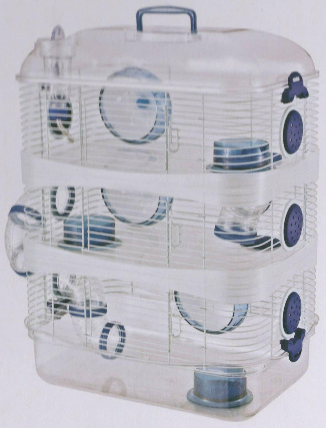 3 Color, NEW Clear Dwarf Hamster Mice 169