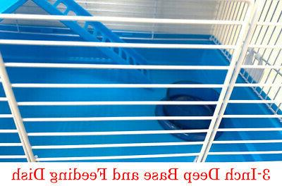 Hamster 3-Levels Home Running Rodent Mouse Mice