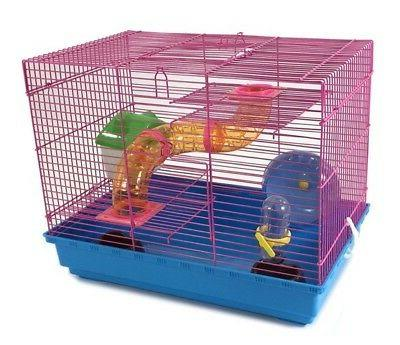 3 Hamster Wheel House Rodents Gerbil Rat Habitat