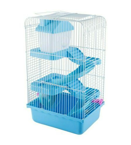 3 Levels Story Cage Habitat, Hamster Critter Gerbil Small An