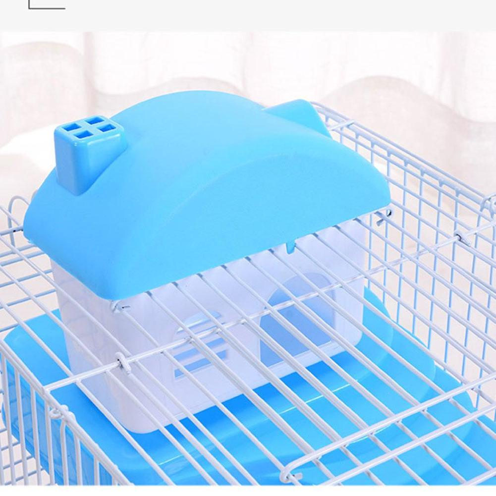 Adeeing 3-storey <font><b>Hamster</b></font> <font><b>Cage</b></font> House Portable Mice Home