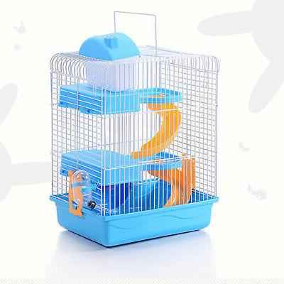 3-storey Hamster Luxury Portable Home Decoration