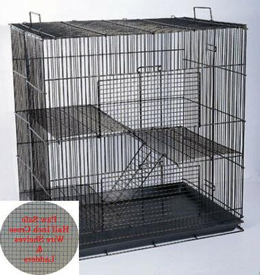 3 story 20 chinchilla guinea pig hamster