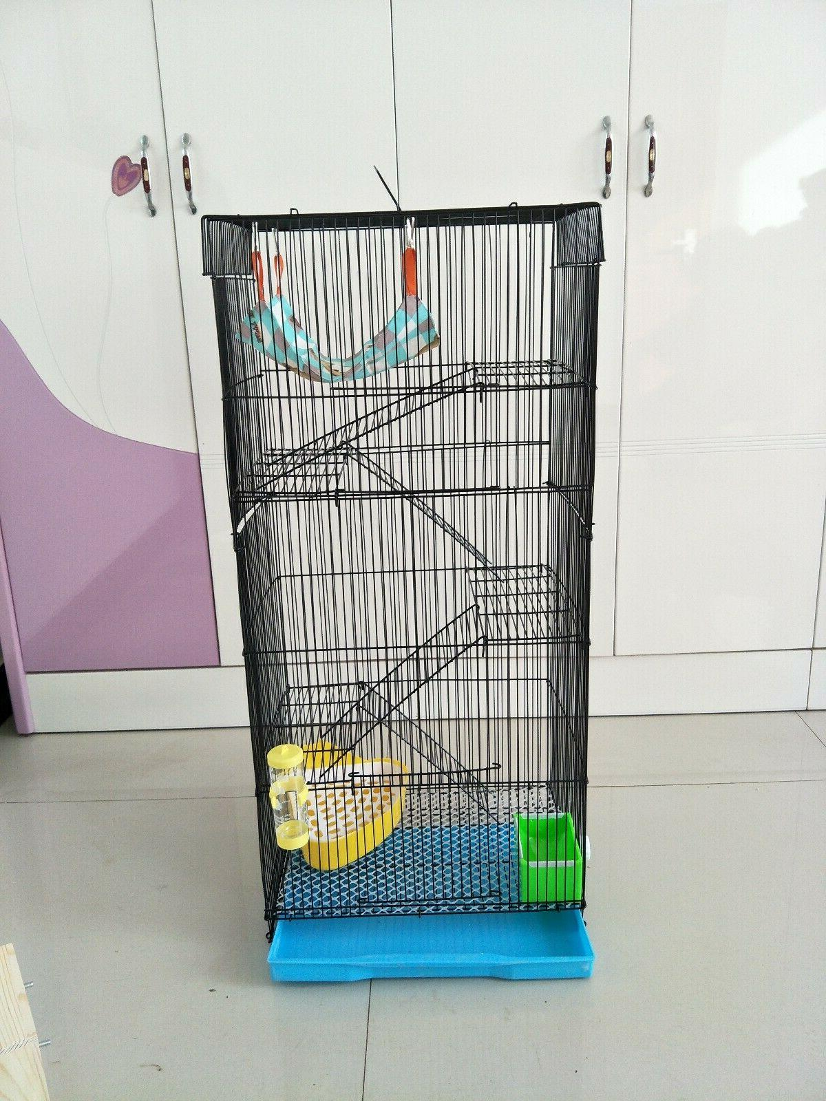 "36"" Levels Large Cage Chinchilla Degu Dwarf Rabi"