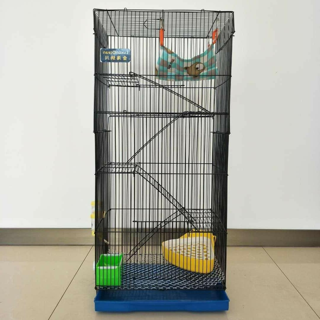 36 5 levels large cage for chinchilla
