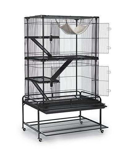 Prevue Pet 484 Deluxe Critter Cage, Gray