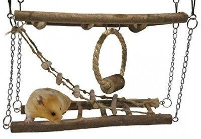 activity suspension bridge hamster and small animal