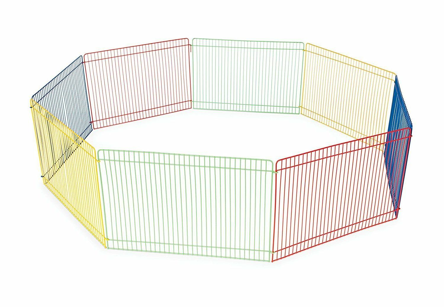 Small Animal Guinea Pet Exercise Playpen Panel Gerbils