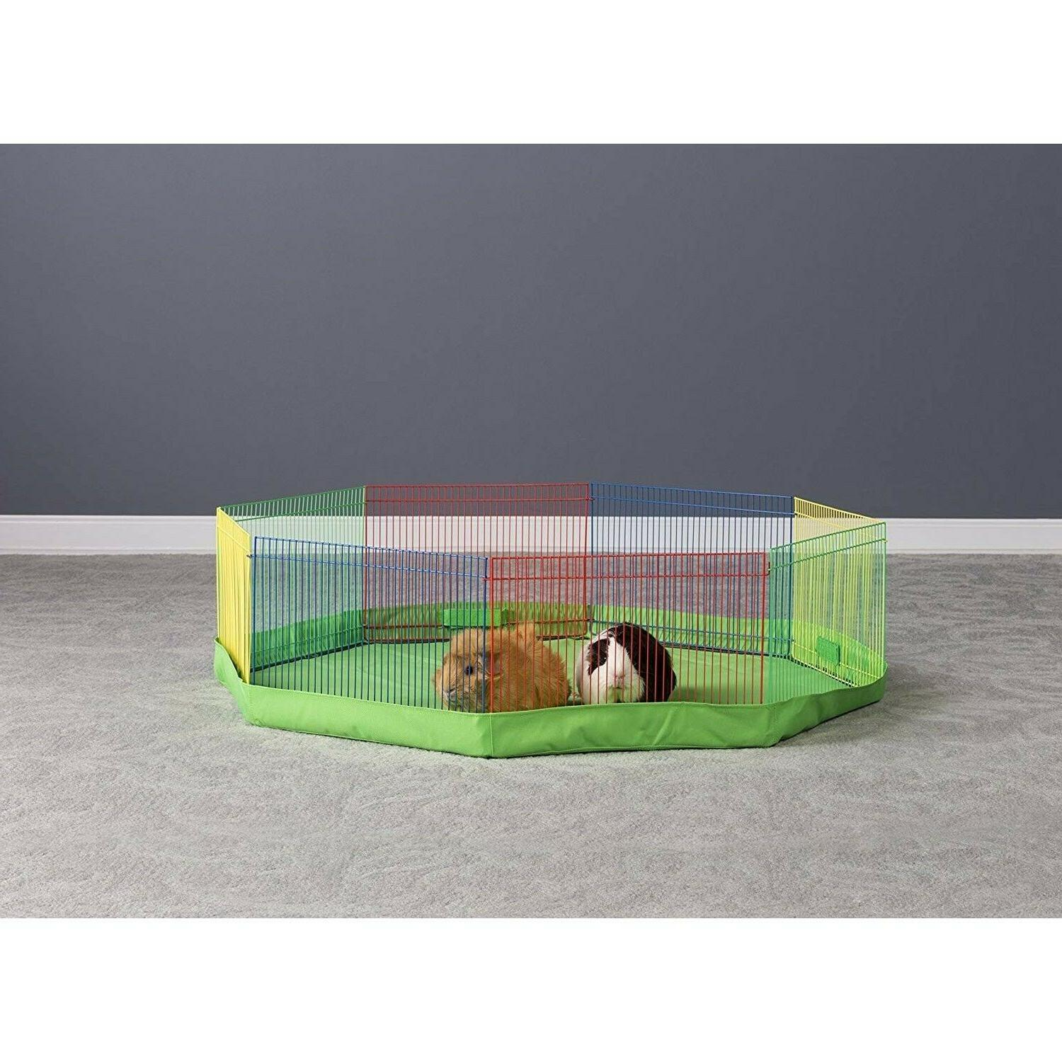 Best Big Guinea Pig Rabbit Cage Kit Mall Animal Rodent Barrier