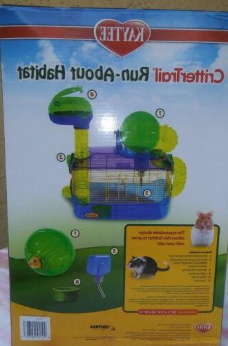 **BRAND NEW** Run-About Hamster Habitat Kaytee