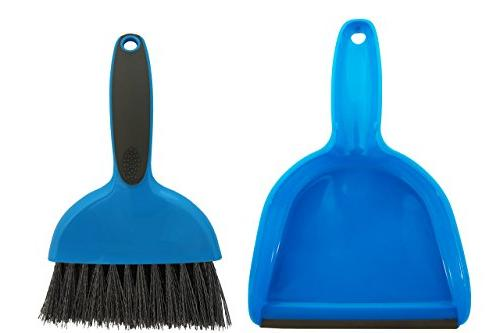 Cage Guinea Pigs, Hedgehogs, Chinchillas, Rabbits, Reptiles, and Other Cleaning Tool Set Animal Mini Dustpan and Brush