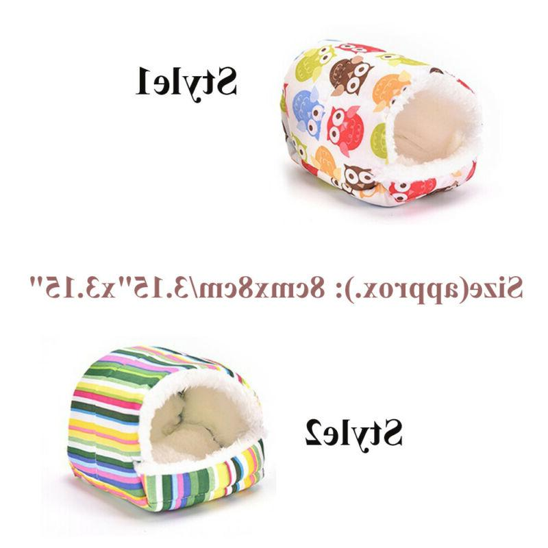 Cage Hamster Sleeping Bed Guinea Pig Mat Small Animal Warm Pad