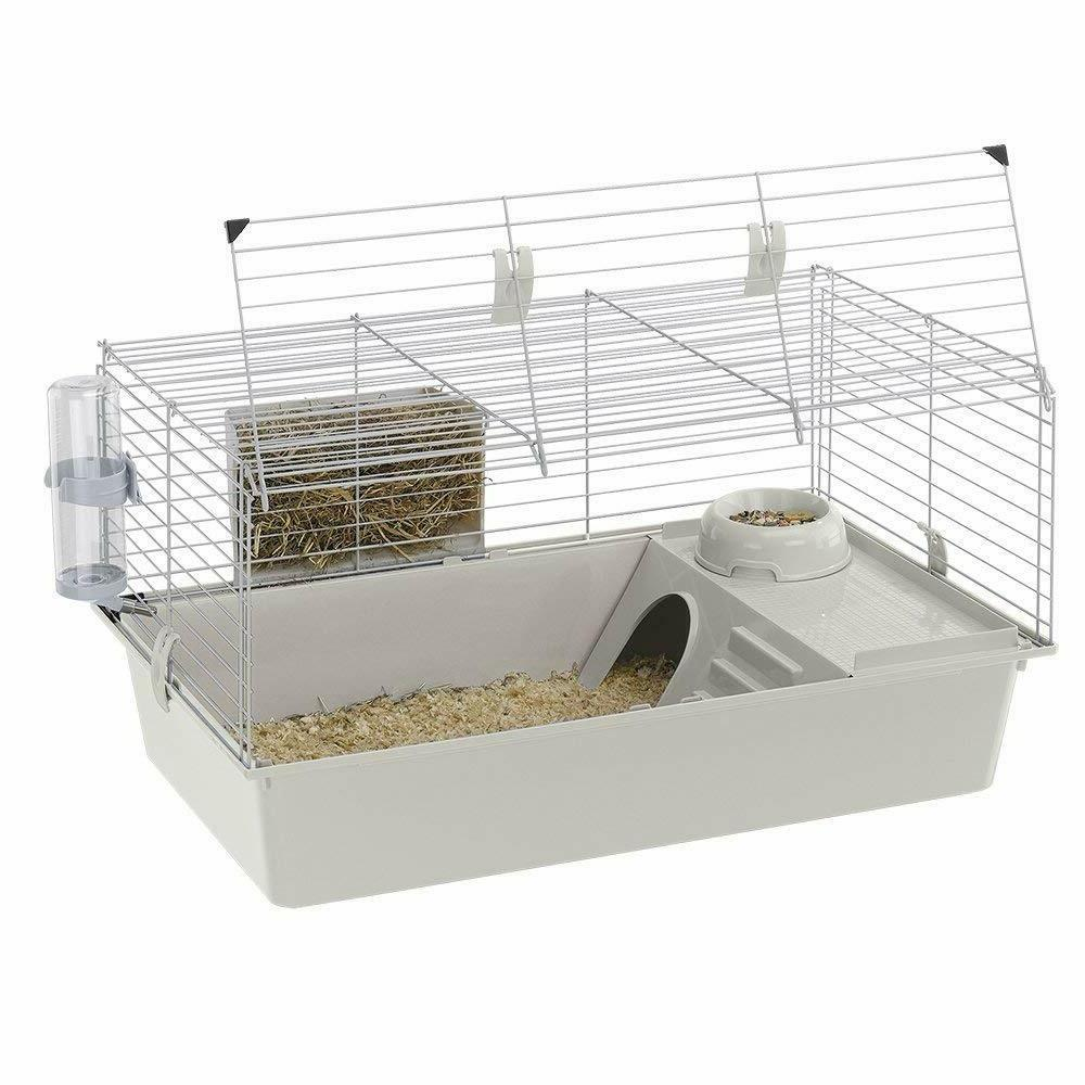 cavie 80 pig cage grey new manufacture