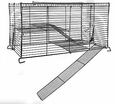 chew proof high rise pet cage