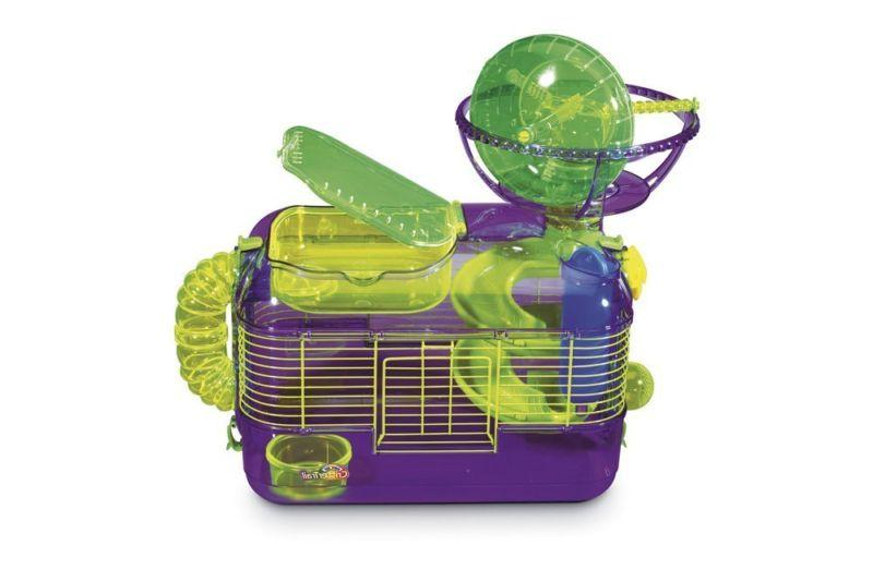 Super Pets Critter Trail Mouse Cage +