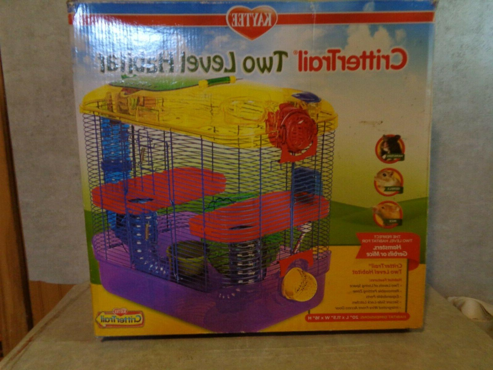 crittertrail two level habitat 20 inches x