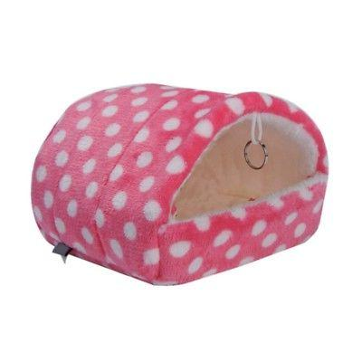 Cute Guinea Pig Bed Animal Cage Hamster Sleeping House S-XL