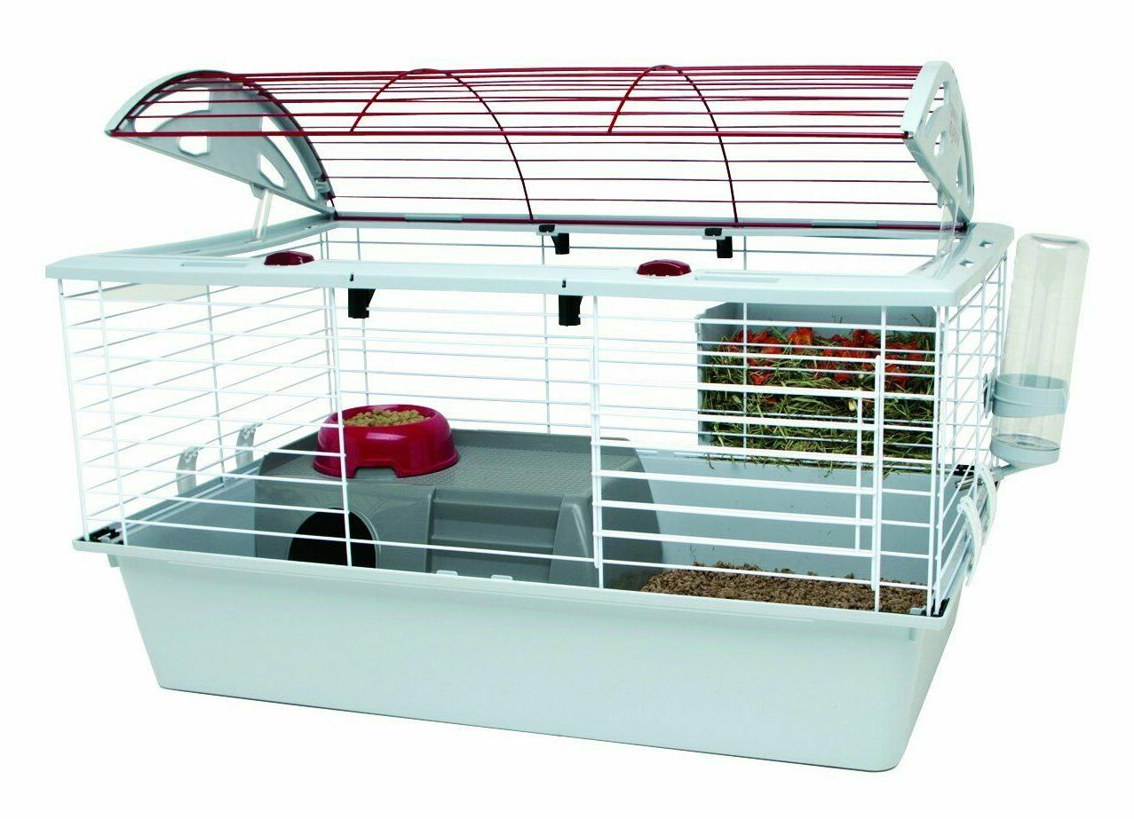 Living World Deluxe Habitat Small Animal Cage - Size: Standa