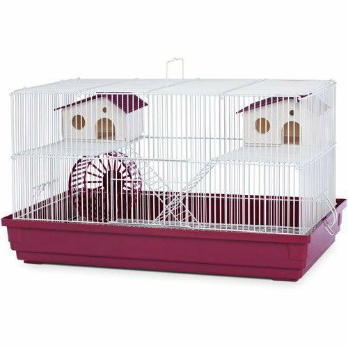 deluxe hamster and gerbil cage habitat
