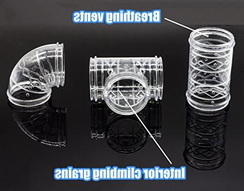GNB DIY Hamster Tunnel and Playground Module, Platform Mouse Hamster and Other Animals