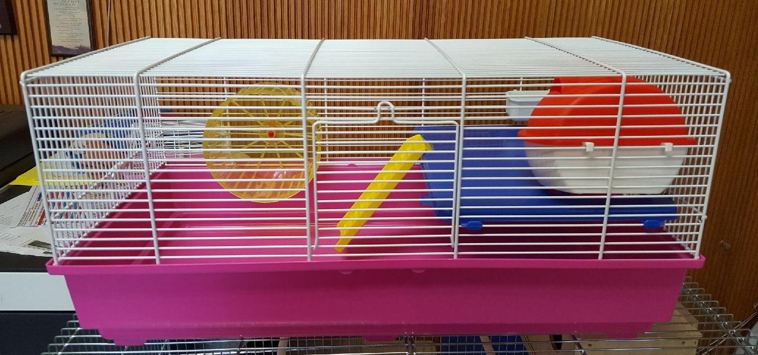 dm 351wh 2 level hamster cage